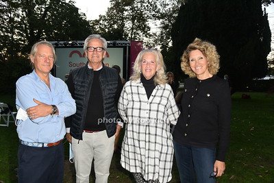 Norm Stump, Peter Christensen, Debra Simon,  Angela Boyer Stump photo by Rob Rich/SocietyAllure.com ©2020 robrich101@gmail.com 516-676-3939