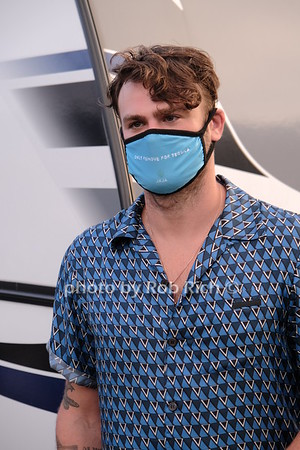 Alex Pall of The Chainsmokers before the concert at Nova's Ark in Watermill, NY on 7-25-20. photo by Rob Rich/SocietyAllure.com ©2020 robrich101@gmail.com 516-676-3939