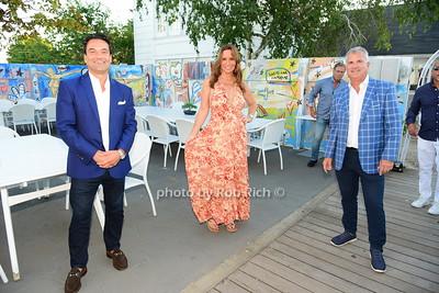 Sergio Nicolosi, Carole Crist, Greg Matthews photo by Rob Rich/SocietyAllure.com ©2020 robrich101@gmail.com 516-676-3939