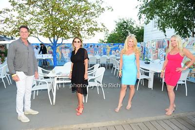 Danny David, Elyse Bongiorno, Karen Harris, Vanda Singer photo by Rob Rich/SocietyAllure.com ©2020 robrich101@gmail.com 516-676-3939