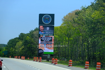 Shinnecock nation billboard on Montauk highway May 21, 2020: Hamptons photo by Rob Rich/SocietyAllure.com ©2020 robrich101@gmail.com 516-676-3939