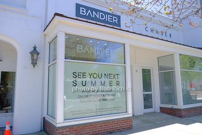 Bandier shop in Southampton May 21, 2020: Hamptons photo by Rob Rich/SocietyAllure.com ©2020 robrich101@gmail.com 516-676-3939
