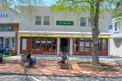 75 Main restaurant in Southampton May 21, 2020: Hamptons photo by Rob Rich/SocietyAllure.com ©2020 robrich101@gmail.com 516-676-3939