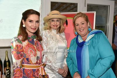 Jean Shafiroff, Carolyn Maloney, Rebecca Seawright photo  by Rob Rich/SocietyAllure.com ©2021 robrich101@gmail.com 516-676-3939