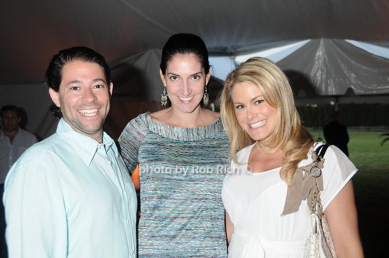 Andrew Waranch, Gabriella Hriscko, Alissa Grad photo by Rob Rich © 2011 robwayne1@aol.com 516-676-3939