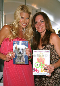 Beth Ostrosky Stern: Oh my Dog, Lisa Hartman: Dial a Dynamite Dog attend the 7th Annual East Hampton Library Authors Night at the East Hampton Library. (August 13, 2011)