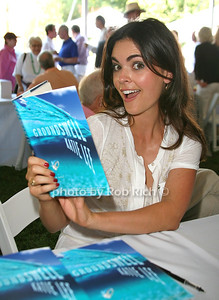 Katie Lee: Groundswell attends the 7th Annual East Hampton Library Authors Night at the East Hampton Library. (August 13, 2011)