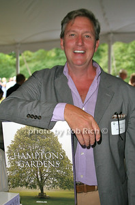 Jack deLashmet: Hamptons Gardens attends the 7th Annual East Hampton Library Authors Night at the East Hampton Library. (August 13, 2011)