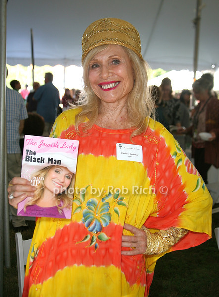 Carol Sue Gershman: The Jewish Lady & The Black Man<br /> attends the 7th Annual East Hampton Library Authors Night at the East Hampton Library. (August 13, 2011)