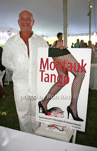 Dr. Lewis Gross: Montauk Tango attends the 7th Annual East Hampton Library Authors Night at the East Hampton Library. (August 13, 2011)