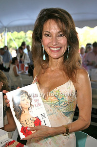 Susan Lucci: All my Life attends the 7th Annual East Hampton Library Authors Night at the East Hampton Library. (August 13, 2011)