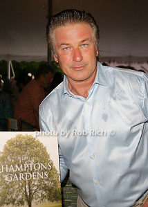 Alec Baldwin attends the 7th Annual East Hampton Library Authors Night at the East Hampton Library. (August 13, 2011)