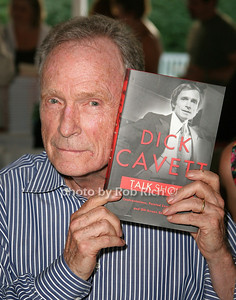 Dick Cavett: Talk Show attends the 7th Annual East Hampton Library Authors Night at the East Hampton Library. (August 13, 2011)