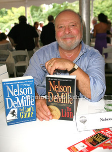 Nelson DeMille: The Lion attends the 7th Annual East Hampton Library Authors Night at the East Hampton Library. (August 13, 2011)