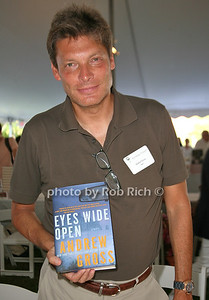 Andrew Gross: Eyes Wide Open attends the 7th Annual East Hampton Library Authors Night at the East Hampton Library. (August 13, 2011)