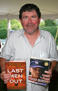 Tom Clavin: Last Men Out attends the 7th Annual East Hampton Library Authors Night at the East Hampton Library. (August 13, 2011)