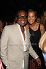 L.A. Reid and Jaci Reid attend the Art for Life benefit at the home of Russell Simmons (July 30, 2011)
