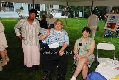 Shirelle Wrighton, Luis Hernandez and Liz Holmes