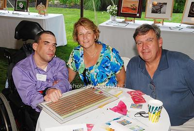 Charlie Stolz, Stephanie Stolz and Charles Stolz