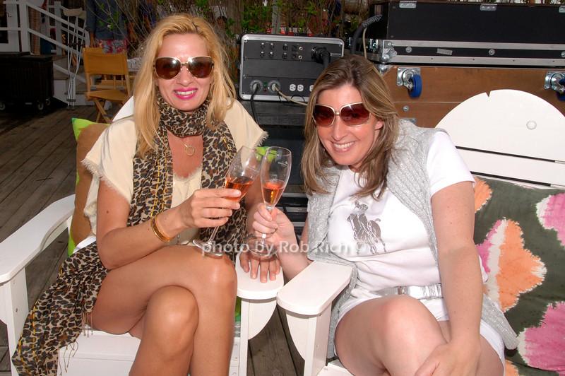 Korina Kontogianni and Andrea Bartzen<br /> photo by Rob Rich © 2009 robwayne1@aol.com 516-676-3939