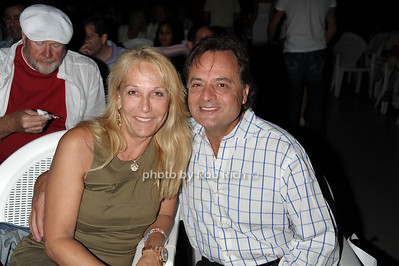 "Miss Lublliner and Dr. Jerry Lubliner attend Cirque USA: The Electric Cirquit Electrify Your Imagination"" at East Hampton Studio. (July 3, 2011)"