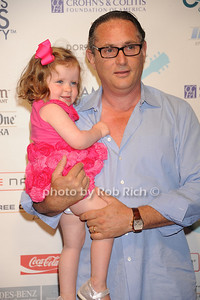 Blake Bebon and  Michael Bebon attend  the Hamptons Rocks for Charity concert at East Hampton Studio (September 1, 2011)