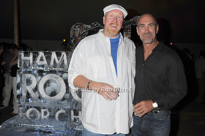 JD Nugent and Bobbie Nystrom attend  the Hamptons Rocks for Charity concert at East Hampton Studio (September 1, 2011)