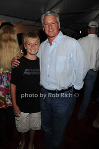 Will Rand and Mike Rand attend  the Hamptons Rocks for Charity concert at East Hampton Studio (September 1, 2011)