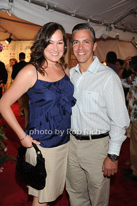 Nicole Maselli and  Dan Maselli attend  the Hamptons Rocks for Charity concert at East Hampton Studio (September 1, 2011)