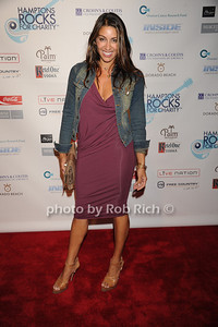 Shamin Abas attends  the Hamptons Rocks for Charity concert at East Hampton Studio (September 1, 2011)