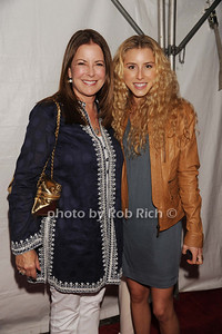 Ellen Crown and Paige. Bellissimo attend  the Hamptons Rocks for Charity concert at East Hampton Studio (September 1, 2011)
