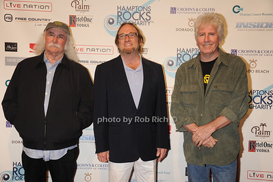 Crosby,Stills, and Nash perform at the Hamptons Rocks for Charity concert at East Hampton Studio (September 1, 2011)