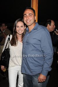 Heather Vail and Cameron Rokhsar attend  the Hamptons Rocks for Charity concert at East Hampton Studio (September 1, 2011)