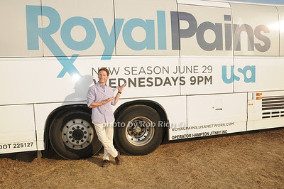 Mark Feuerstein, star of Royal Pains attends Dan's Taste of Two Forks at Sayre Park (July 16, 2011)