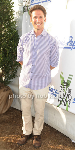 Mark Feuerstin, star of Royal Pains, attends Dan's Taste of Two Forks at Sayre Park (July 16, 2011)