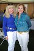 Erin O'Brien and Nina Kaminska attend  the ASPCA Champagne for Horses event at the Hampton Classic Horseshow. (September 1, 2011)
