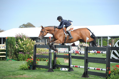 Kristin Lutz competes @ the Hampton Classic Horseshow in Bridgehampton (September 1, 2011)