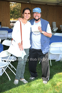 Kedaki Lipton and James Lipton attend Day 2 of the  Hampton Classic Horseshow. (September 1, 2011)