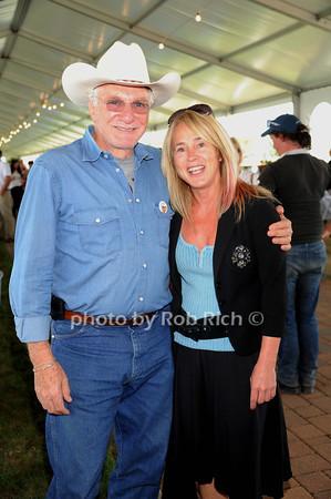 David Yurman and Bonnie Grice attend Day 2 of the Hampton Classic Horseshow in Bridgehampton (September 1, 2011)
