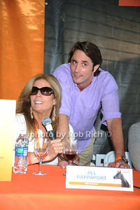 Jill Rappaport  and  Lorenzo Borghese attends the ASPCA Champagne for Horses event at the Hampton Classic Horseshow. (September 1, 2011)