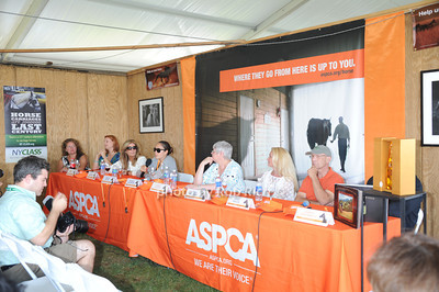 The ASPCA Champagne for Horses event at the Hampton Classic Horseshow. (September 1, 2011)