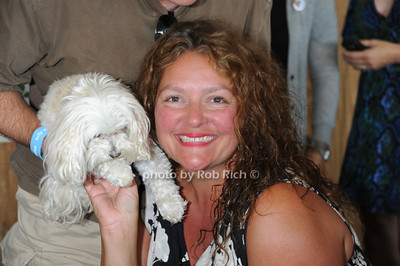 Aida Turturro attends the ASPCA Champagne for Horses event at the Hampton Classic Horseshow. (September 1, 2011)