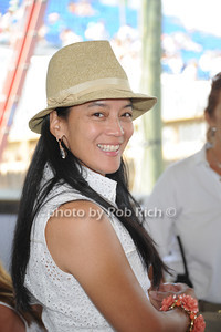 Cassandra Seidenfeld Lyster attends Day 2 of the Hampton Classic Horseshow in Bridgehampton (September 1, 2011)