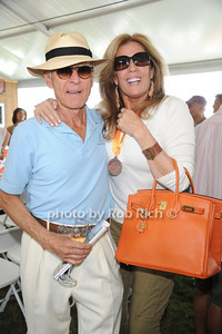 Ron Delsner and  JiIl Rappaport attend  the ASPCA Champagne for Horses event at the Hampton Classic Horseshow. (September 1, 2011)