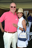 Robert Lyster and  Cassandra Seidenfeld Lyster attend  the ASPCA Champagne for Horses event at the Hampton Classic Horseshow. (September 1, 2011)