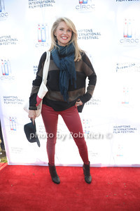 Christie Brinkley attends the HIFF at Guild Hall. (October15, 2011)