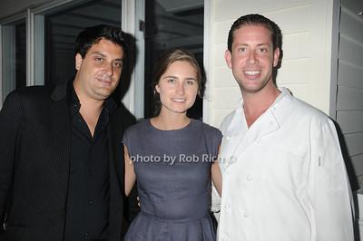 David Schulman, Lauren Bush, Seth Levine  photo by Rob Rich © 2011 robwayne1@aol.com 516-676-3939