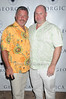 Michael Weiner and Tony Alastra  attend the Social Life cover party for Rachel Nichols  at Georgica Restaurant   (June 18,2011)