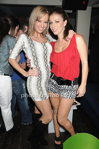 Catherine Ardentand  Ana Morales  attend the Social Life cover party for Rachel Nichols  at Georgica Restaurant   (June 18,2011)