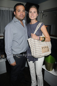Antonio Fuccio, Lauren Bush attend  the official after party for the FEED Foundation at Georgica Restaurant   (June 18,2011)